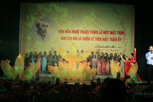 Tưng bừng Lễ kỷ niệm 50 năm thành lập Trường Đại học Văn hóa Hà Nội