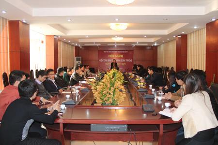 Đại hội Đoàn Thanh niên Cộng sản Hồ Chí Minh Trường Đại học Văn hóa Hà Nội