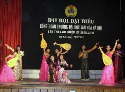 Đại hội đại biểu Công đoàn Trường Đại học Văn hóa Hà Nội lần thứ XVIII