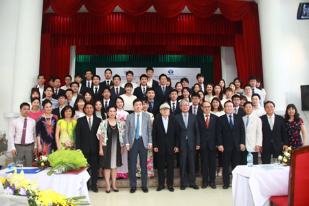 Closing ceremony of training courses Vietnamese project GYMB 5