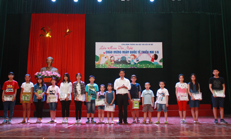 Tet thieu nhi 1-6 at the University of Hanoi Culture