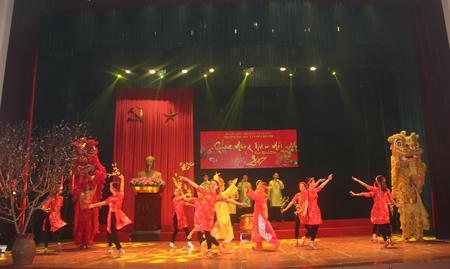 Chương trình gặp mặt chúc mừng năm mới xuân Đinh Dậu 2017