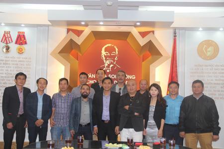 Gặp gỡ nói chuyện đầu xuân 2017 cùng các nhà báo tại Trường Đại học Văn hóa Hà Nội