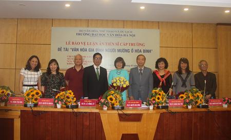 Lễ bảo vệ luận án tiến sĩ cấp Trường của NCS Nguyễn Thị Kim Hoa