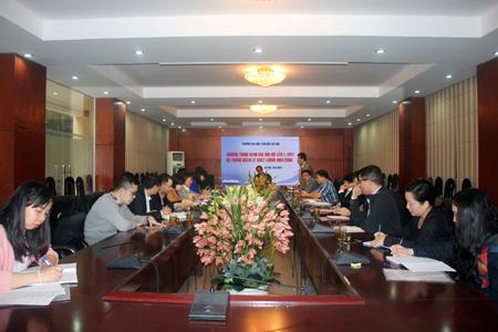 Đánh giá nội bộ hệ thống quản lý chất lượng ISO 9001:2008 tại Trường Đại học Văn hóa Hà Nội đợt 1 năm 2017