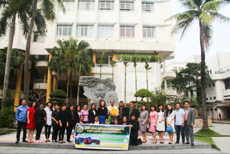 Đoàn đại biểu Trường Cao đẳng Nghệ thuật Nakhon Sri Thammarat đến thăm Trường ĐH Văn hóa Hà Nội