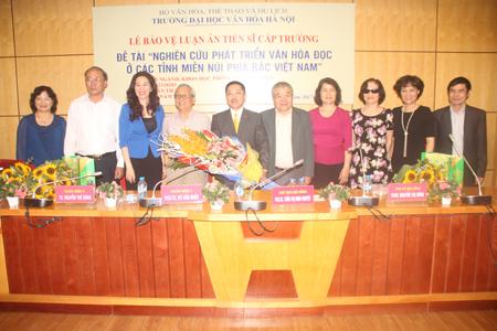 Lễ bảo vệ luận án tiến sĩ cấp Trường của NCS Đoàn Tiến Lộc