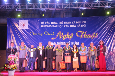 Chương trình nghệ thuật chào mừng  kỉ niệm 58 năm ngày thành lập Trường Đại học văn hóa Hà Nội