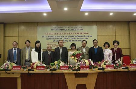 Lễ bảo vệ luận án tiến sĩ cấp Trường của NCS Đặng Thị Hồng Hạnh