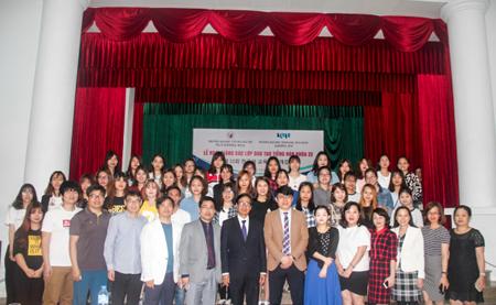 Lễ khai giảng các lớp đào tạo tiếng Hàn khóa 22