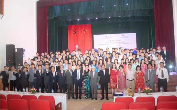 Lễ Bế giảng khóa đào tạo tiếng Việt cho học viên thuộc Dự án