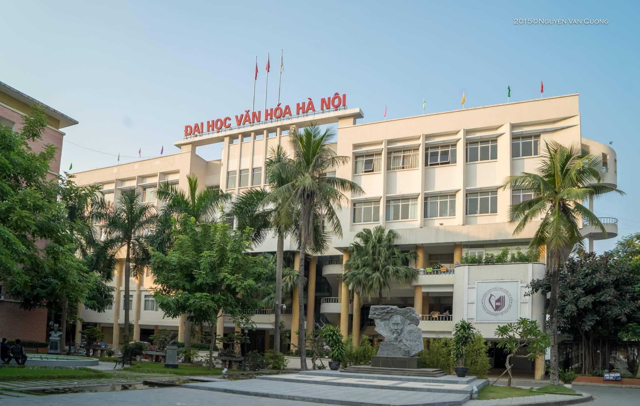 Thông báo điểm chuẩn và danh sách trúng tuyển đại học của Trường Đại học Văn hóa Hà Nội năm 2017