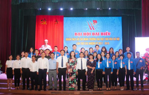 Đại hội Đại biểu Đoàn TNCS HCM Trường Đại học Văn hóa Hà Nội nhiệm kỳ 2017 - 2019