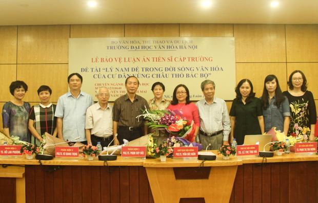 Lễ bảo vệ luận án tiến sĩ cấp Trường của NCS Nguyễn Thị Thanh Mai