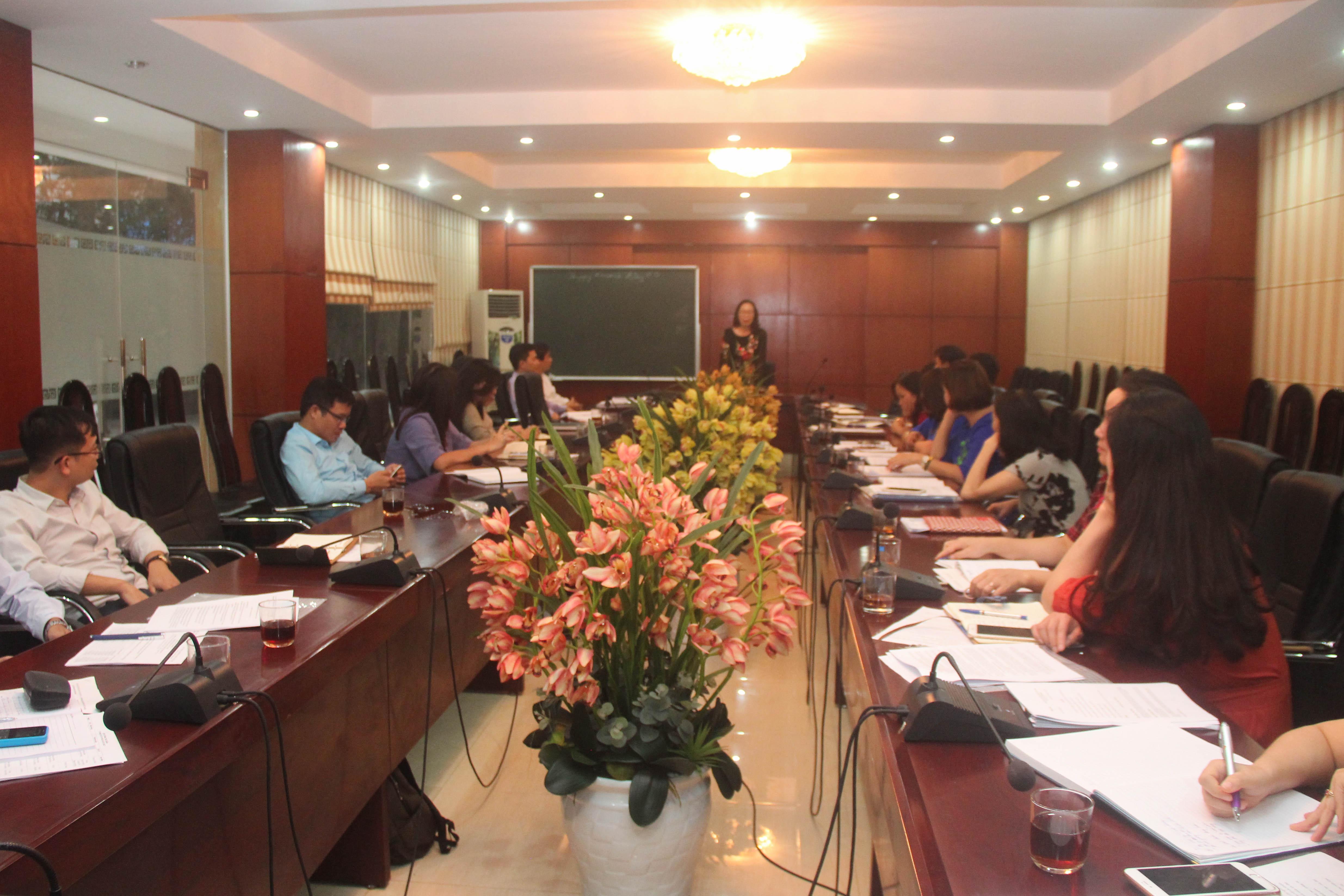 Hội nghị Đối thoại cán bộ viên chức