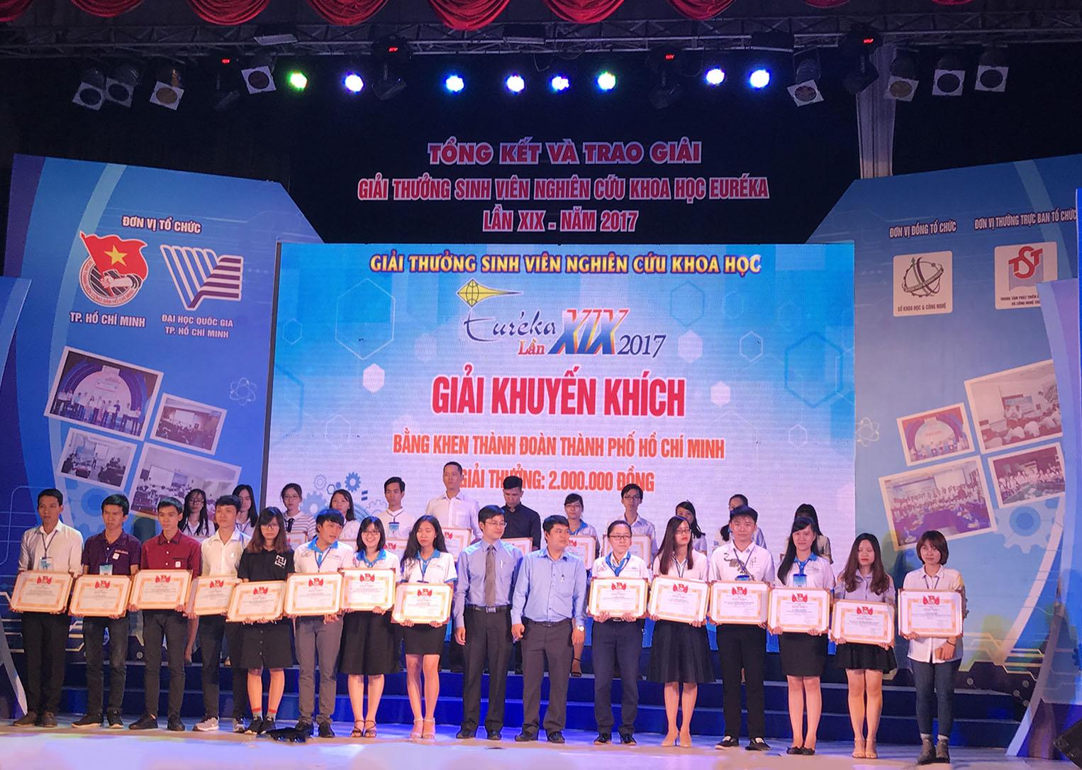 Những thành tích trong nghiên cứu khoa học của sinh viên trường Đại học Văn hóa Hà Nội năm 2017