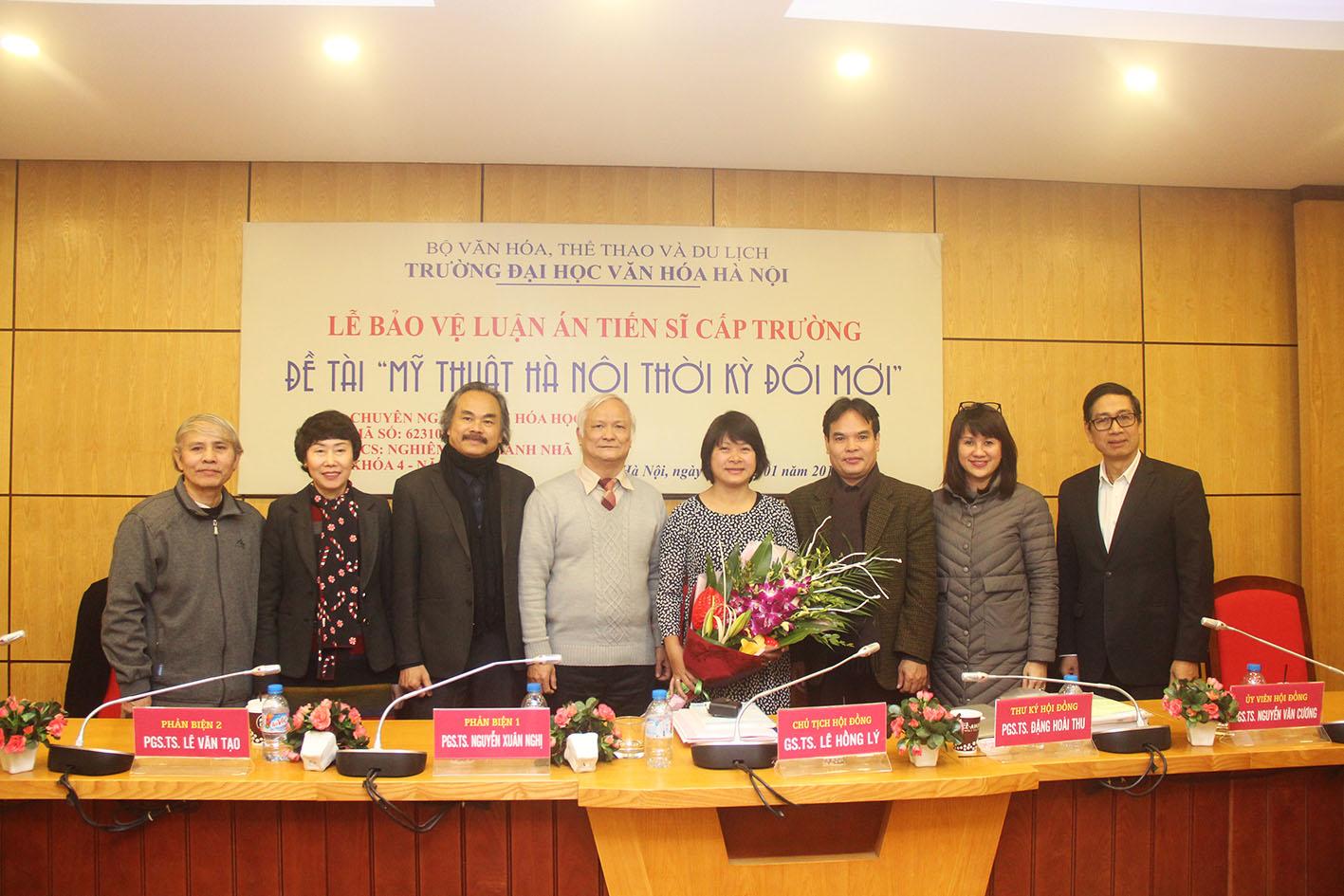 Lễ bảo vệ luận án tiến sĩ của NCS Nghiêm Thị Thanh Nhã