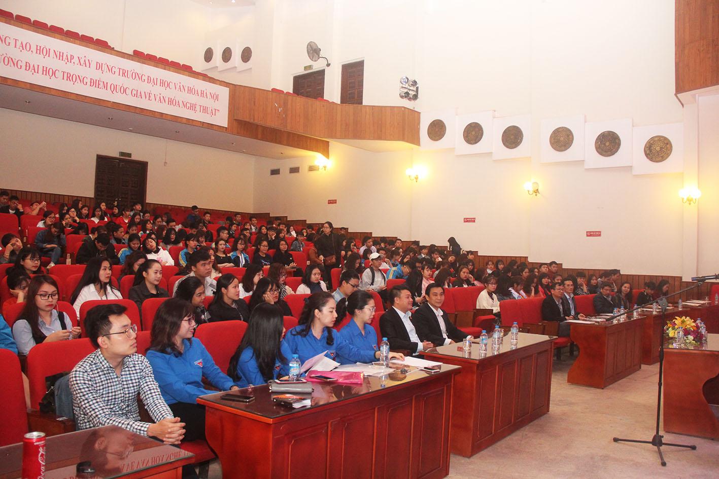 Phát động phong trào NCKH của sinh viên trường Đại học Văn hóa Hà Nội