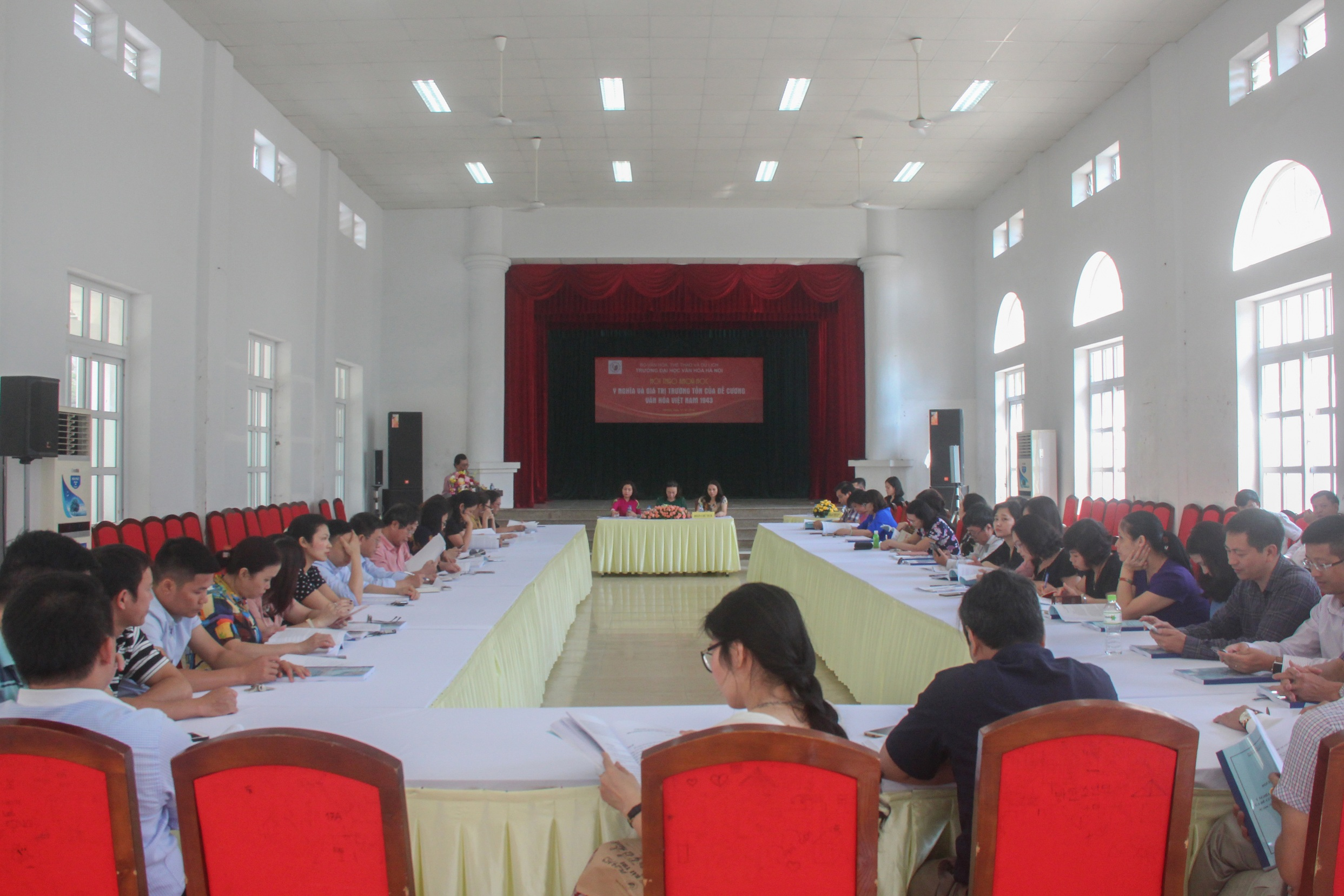 "Scientific Seminar ""The significance and permanent validity of the Vietnam Culture Outline 1943"""