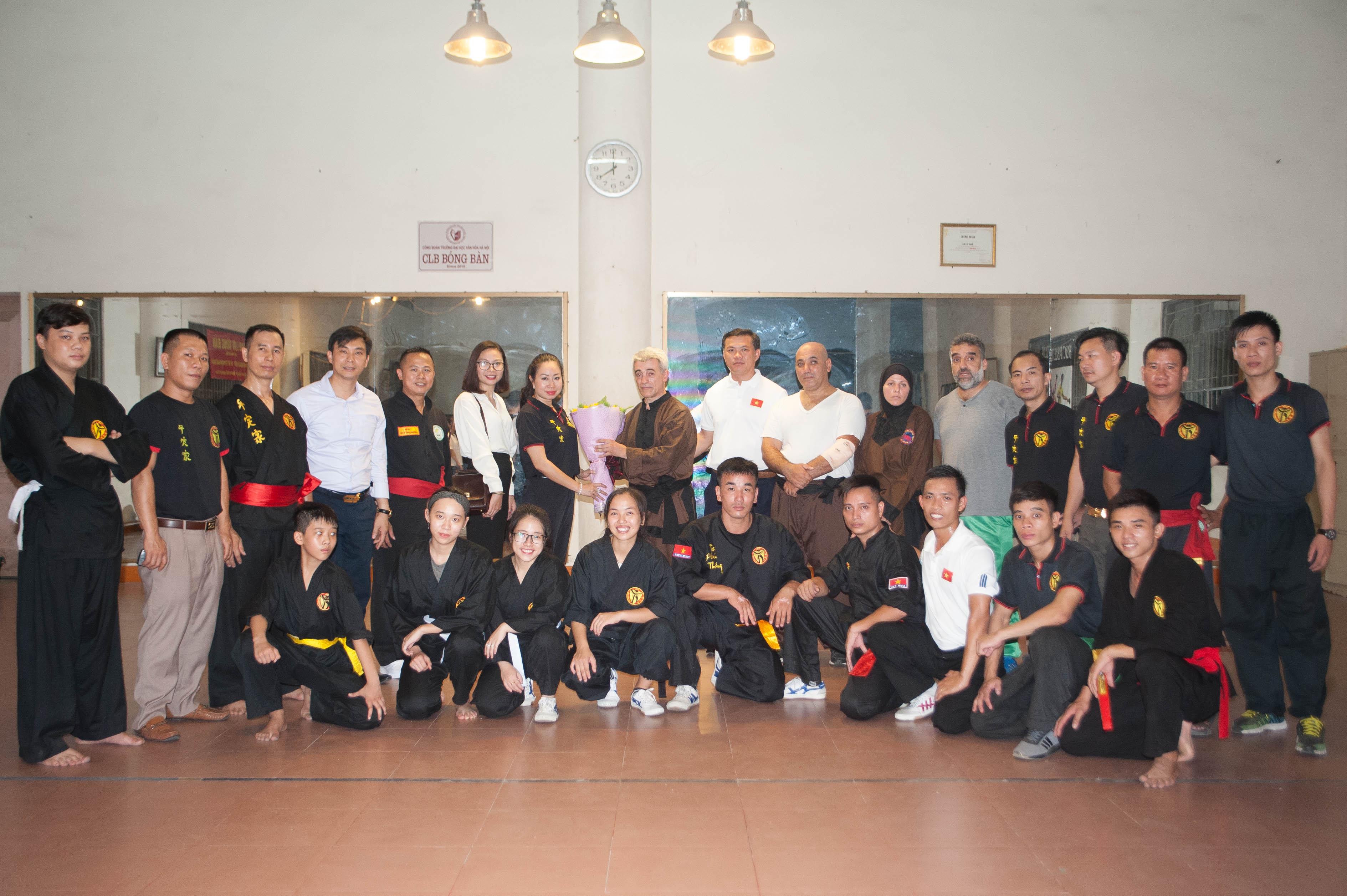 Gặp gỡ, giao lưu võ thuật với Liên đoàn võ thuật Algerie