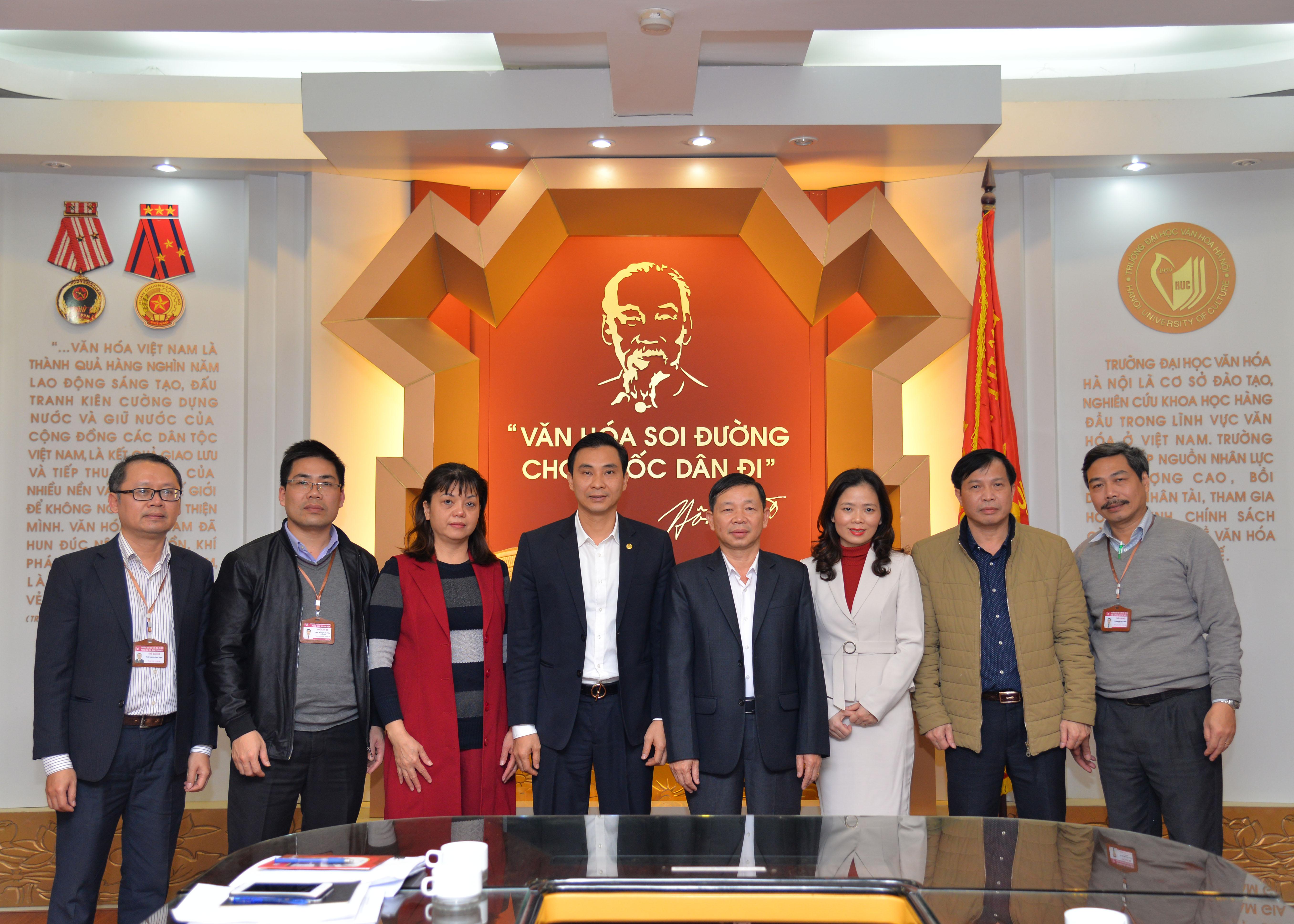 Tiếp và làm việc với Ban Tổ chức - Nội vụ tỉnh Hà Giang về sinh viên cử tuyển