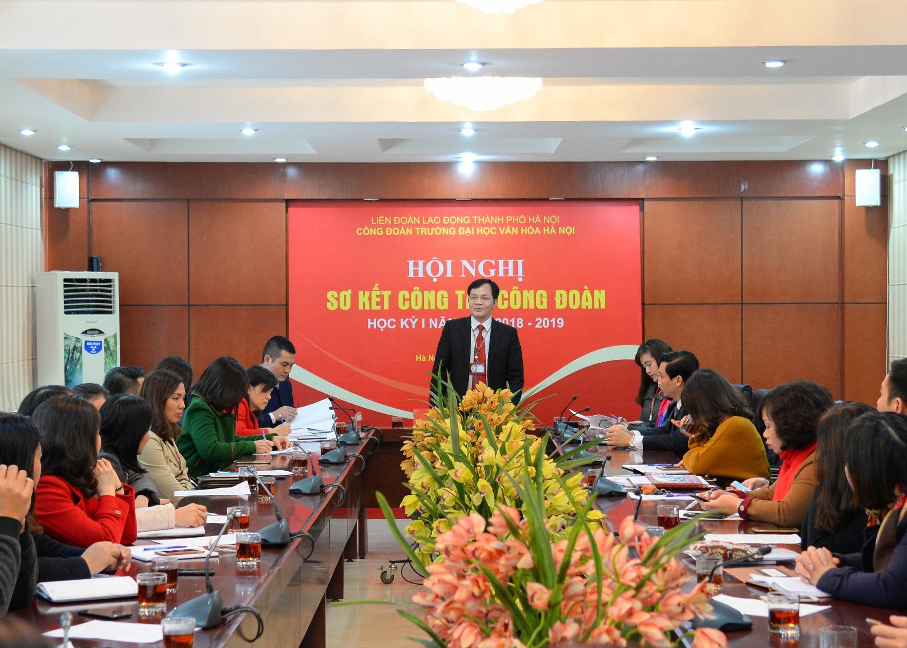 Hội nghị sơ kết hoạt động Công đoàn học kỳ I năm học 2018-2019