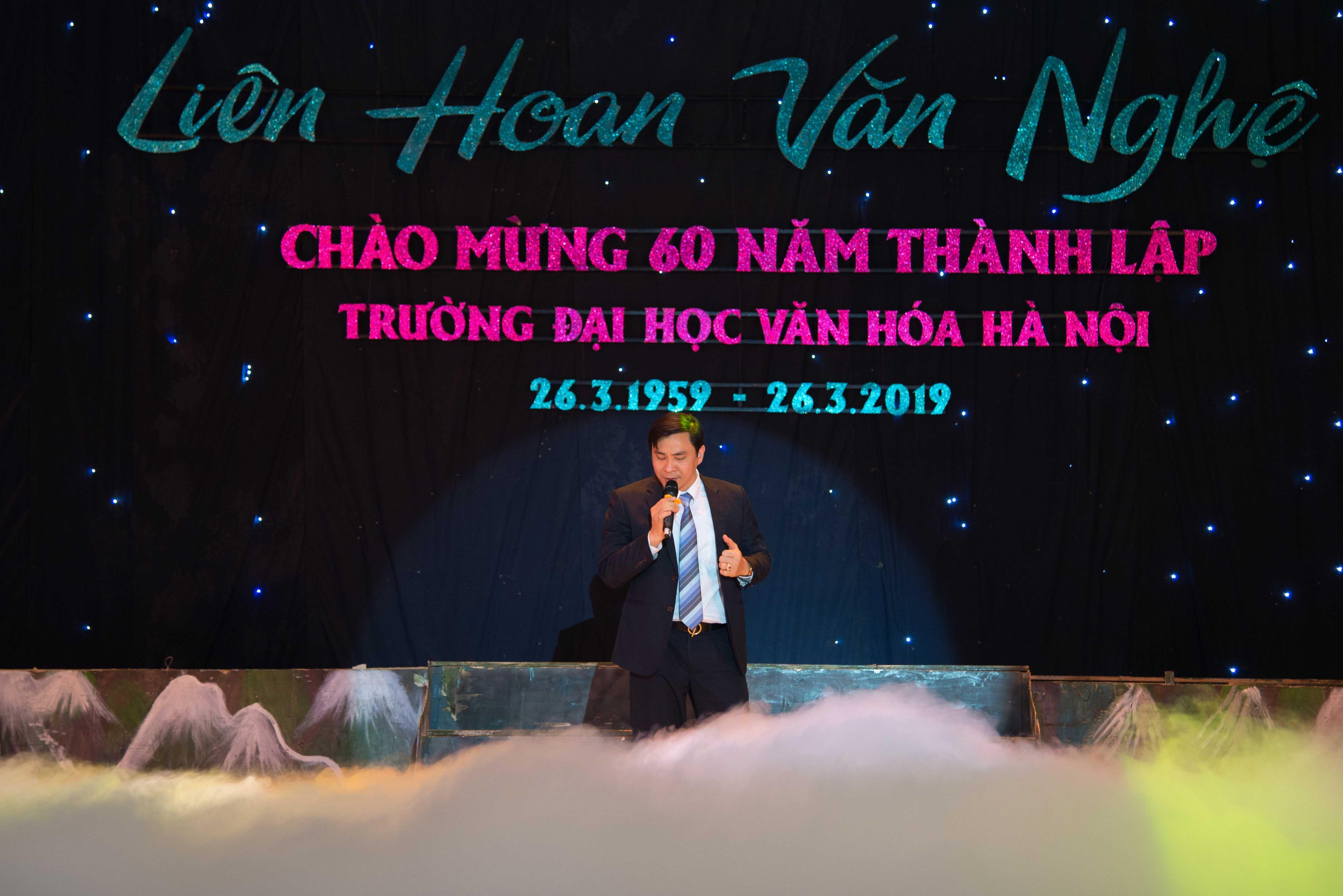Liên hoan văn nghệ Công đoàn lần thứ I chào mừng 60 năm thành lập Trường Đại học Văn hóa Hà Nội