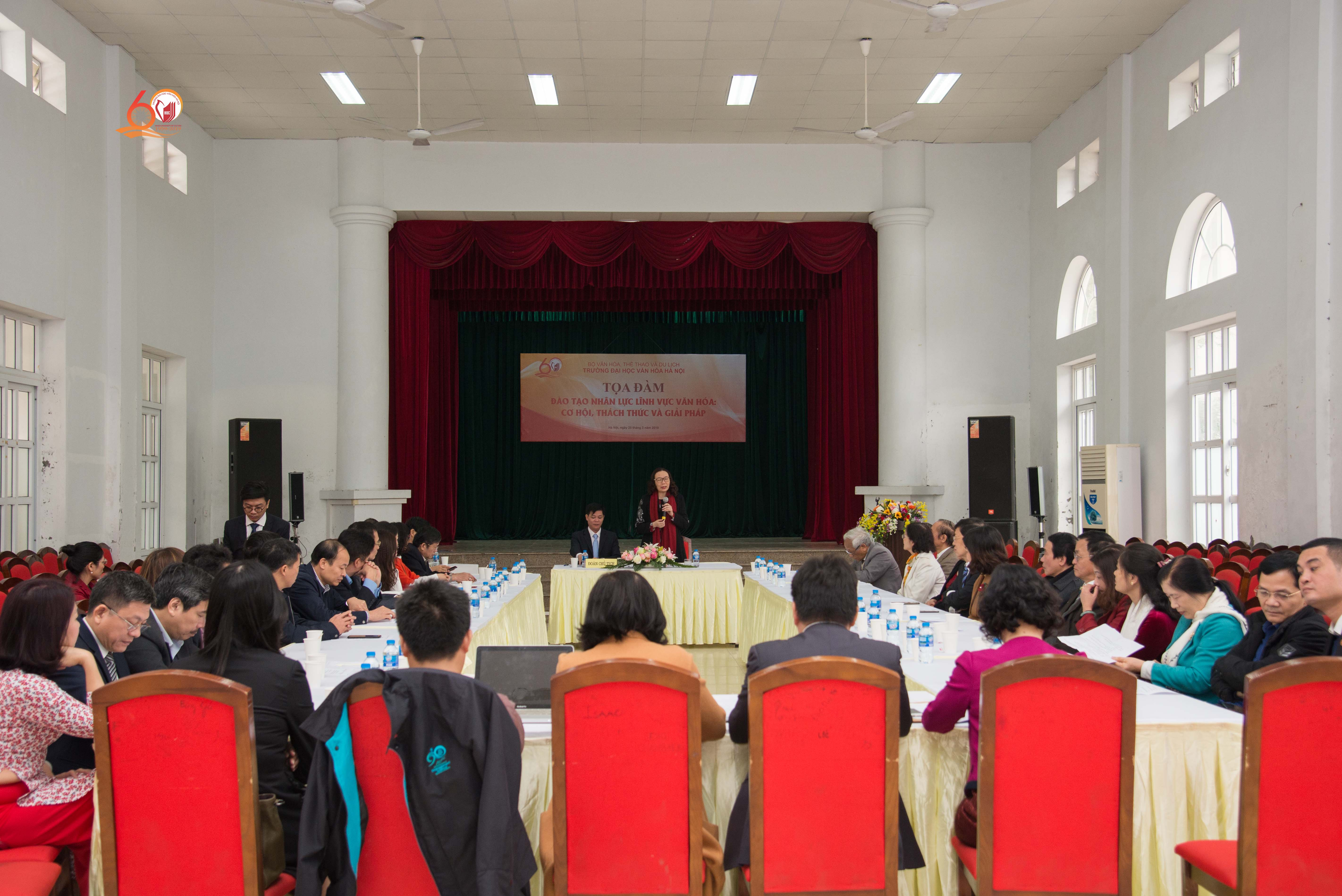 """Tọa đàm """"Đào tạo nhân lực lĩnh vực văn hóa: Cơ hội, thách thức và giải pháp"""""""