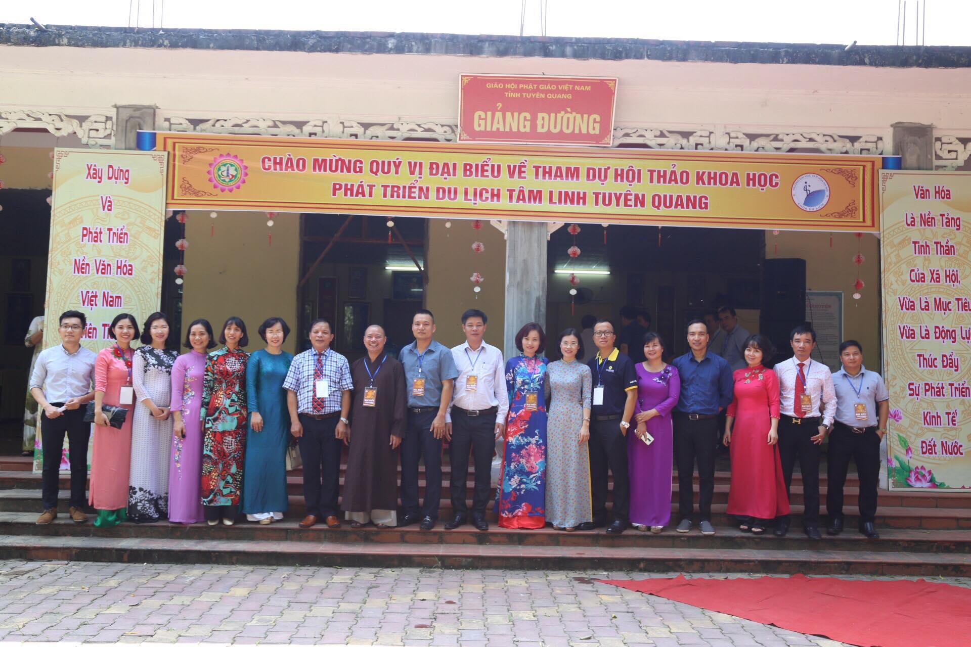 Hội thảo khoa học: Phát triển du lịch tâm linh Tuyên Quang