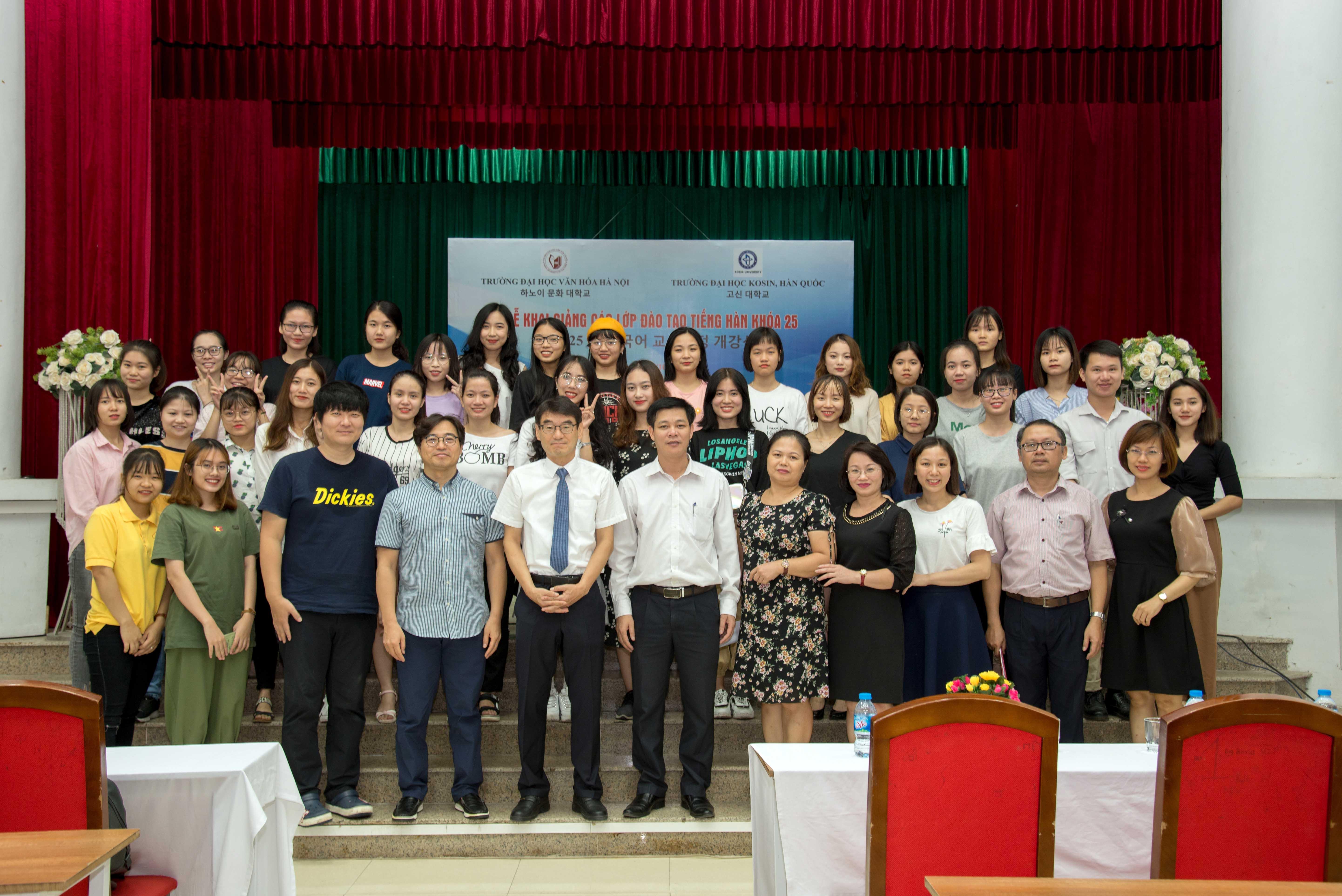 Khai giảng các lớp đào tạo tiếng Hàn khóa 25