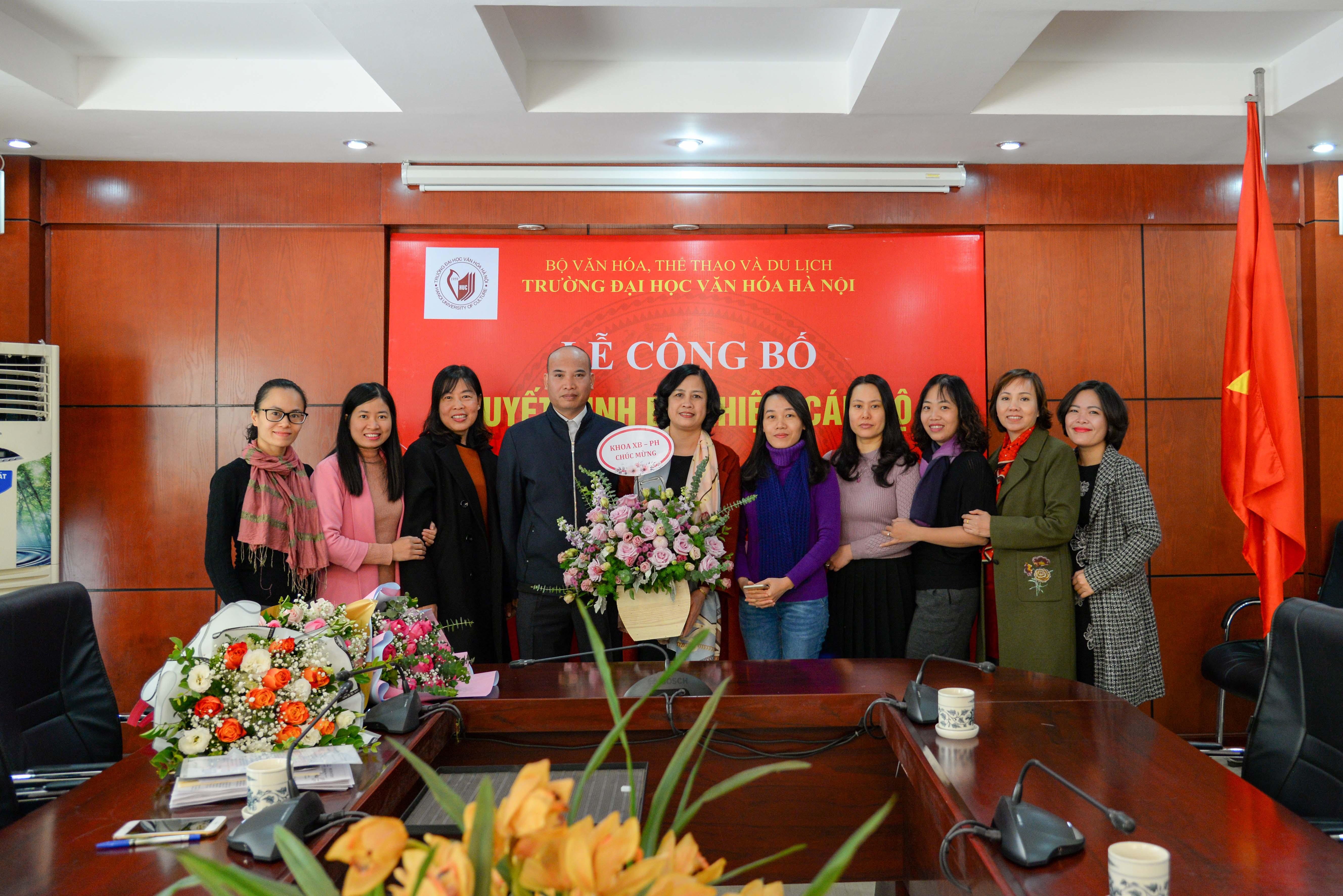 Lễ bổ nhiệm Phó trưởng khoa Xuất bản, Phát hành