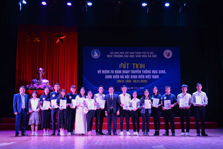 Kỷ niệm 70 năm Ngày truyền thống HSSV và Hội Sinh viên Việt Nam (09.01.1950 - 09.01.2020)