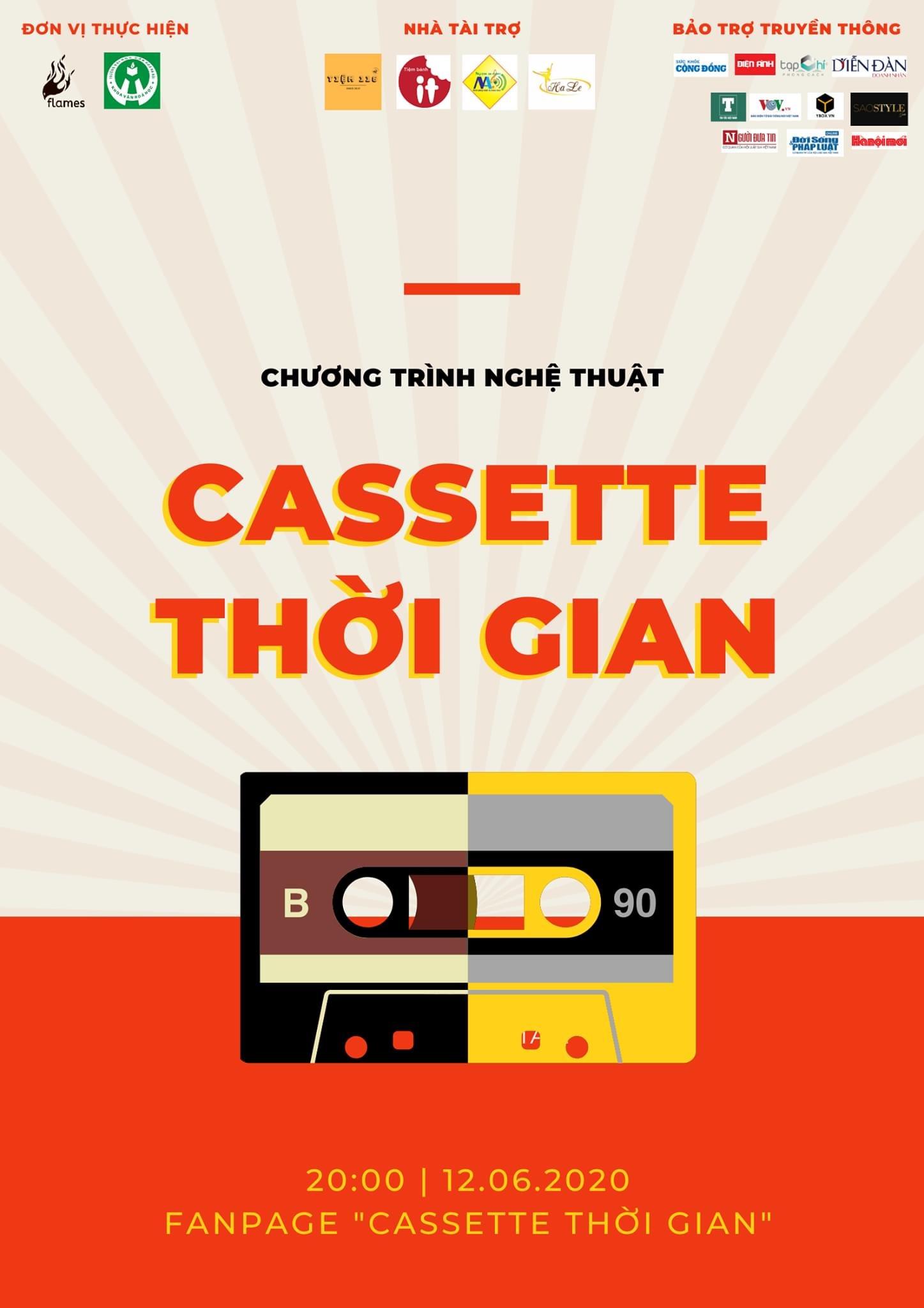 """DVD công chiếu """"Cassette Thời Gian"""" - Khép lại chuỗi sự kiện online đầy ấn tượng"""