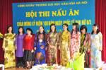 Rộn ràng không khí Hội thi nấu ăn của nữ Công đoàn viên Trường Đại học Văn hóa Hà Nội