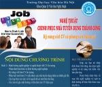 Thông báo tuyển sinh Kỹ năng viết CV và phỏng vấn hiệu quả