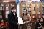 Lễ công bố quyết định bổ nhiệm Phó Trưởng khoa Viết văn- Báo chí