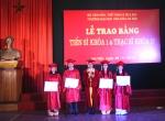 Lễ trao bằng Tiến sĩ khóa 1 và Thạc sĩ khóa 17