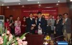 Lễ ký kết Biên bản hợp tác với Trường Đại học Soogsil- Hàn Quốc