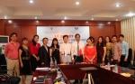 Lễ ký kết hợp đồng đào tạo ngôn ngữ khóa 2 cho dự án GYBM