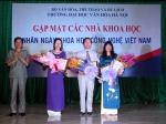 Gặp mặt các nhà khoa học nhân ngày Khoa học công nghệ Việt Nam